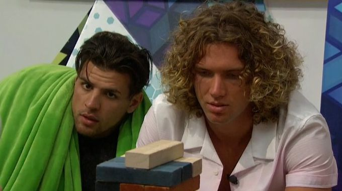 Faysal and Tyler on BB20