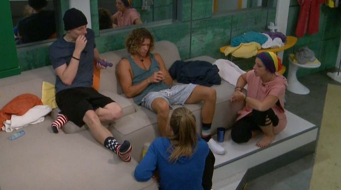 Tyler and HGs on Big Brother 20