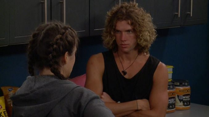 Tyler talks with Angela on BB20