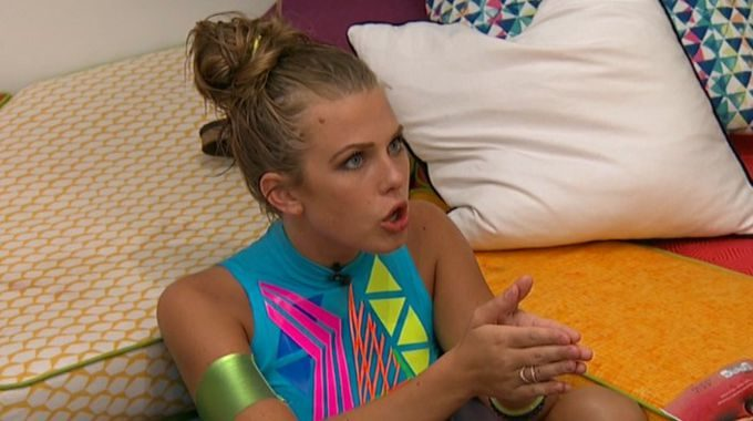Haleigh argues on Big Brother 20