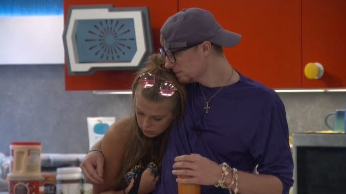 Scottie and Haleigh on BB20