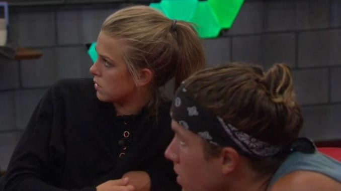 Haleigh and Tyler on Big Brother 20