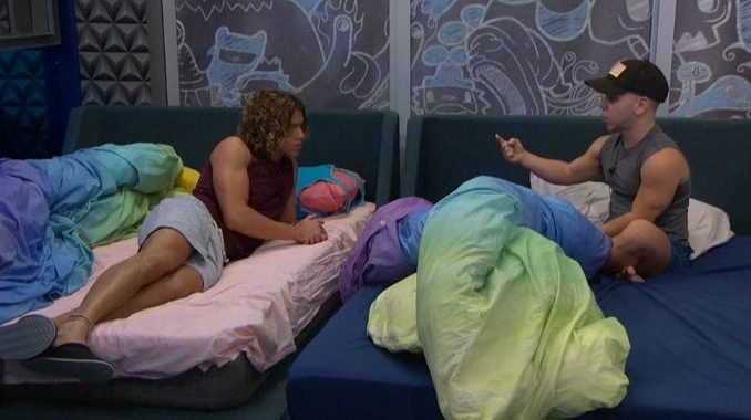 Tyler and JC on Big Brother 20