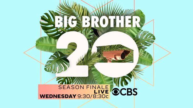 Big Brother 20 season finale tonight