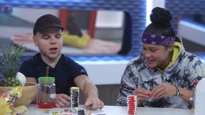 JC and Kaycee on Big Brother 20