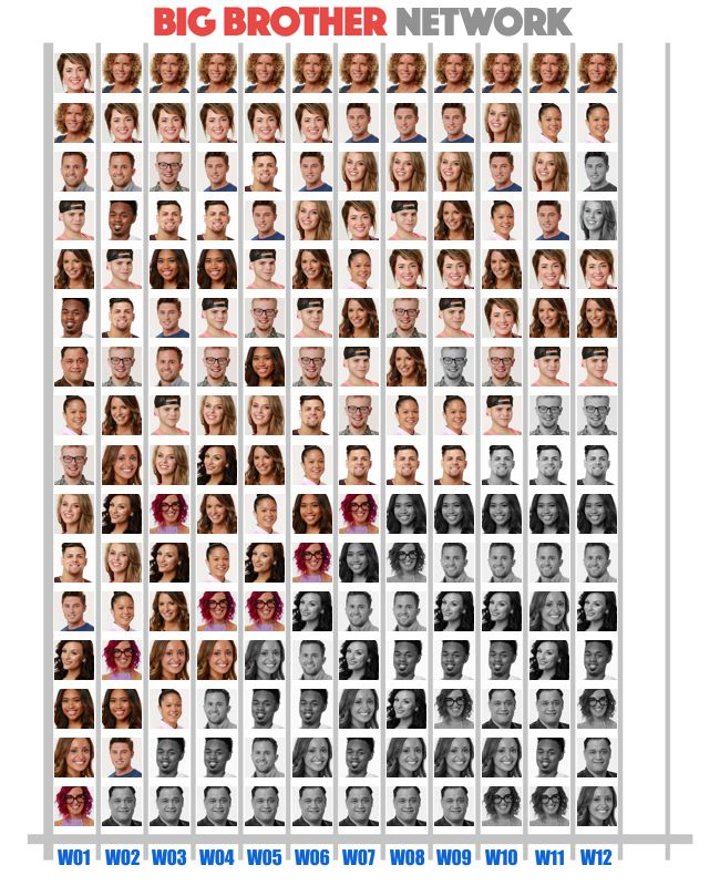 Popularity Poll results for BB20 in Week 12