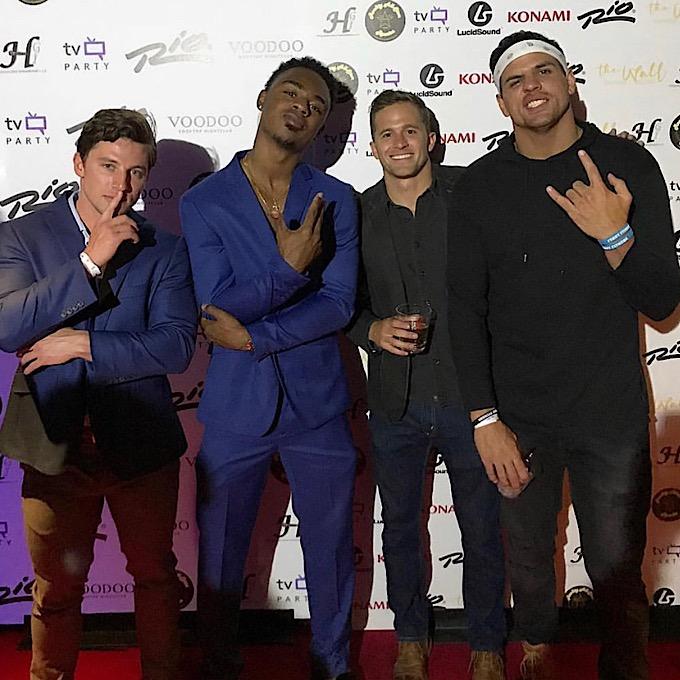 Brett, Swaggy C, Winston and Faysal