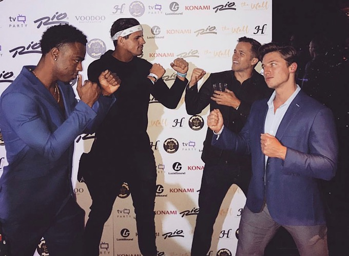 Swaggy C, Faysal, Winston and Brett