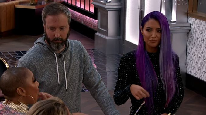 Tom Green & Natalie Eva Marie on CBB2