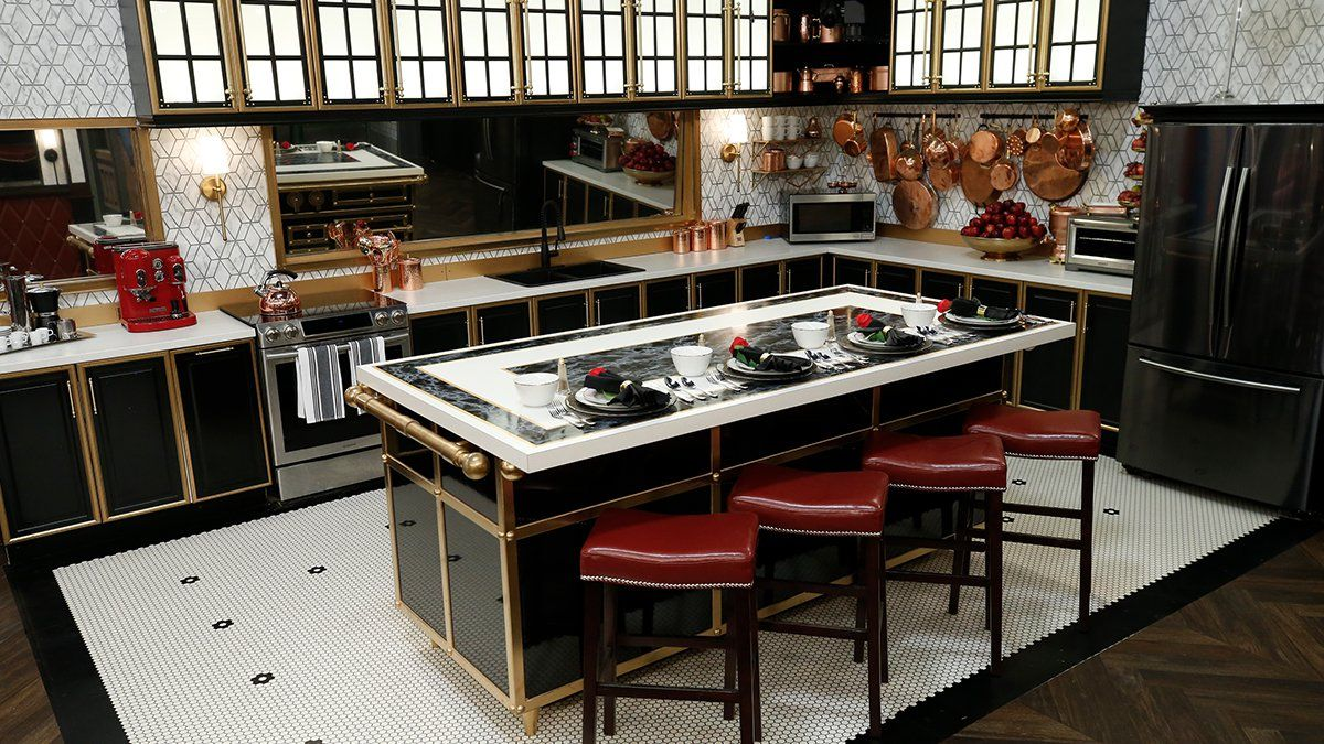 Celebrity Big Brother 2019 house kitchen 01