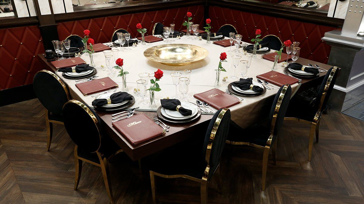 Celebrity Big Brother 2019 House Dining Table 01 Big Brother Network