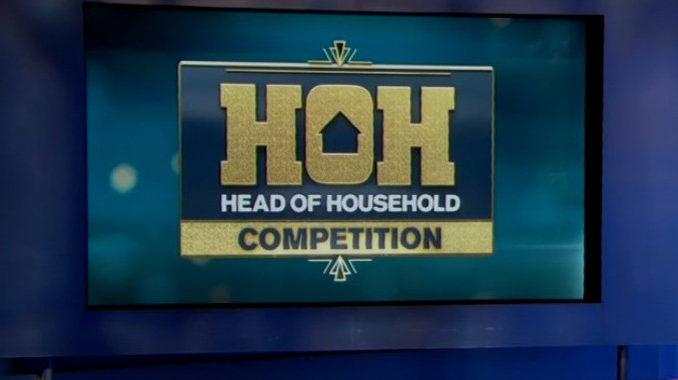 HOH Comp on Celebrity Big Brother