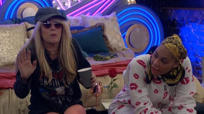 Dina and Tamar on Celebrity Big Brother Feeds