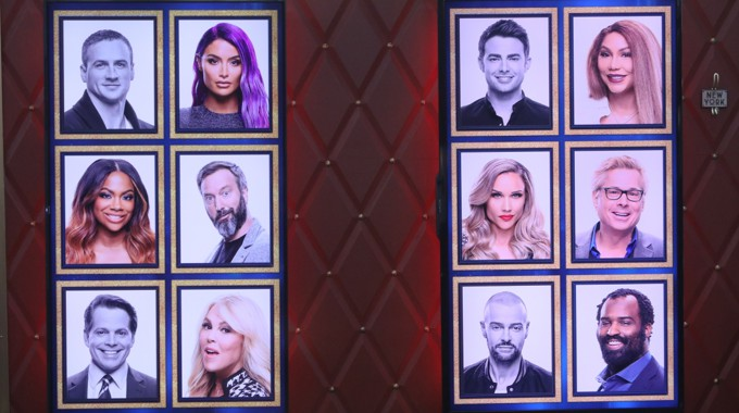 Celebrity Big Brother memory wall in Round 4