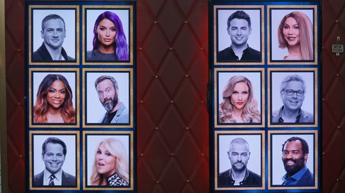 Memory Wall in Round 5 of Celebrity Big Brother 2019