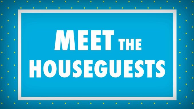 Meet the Big Brother Houseguests