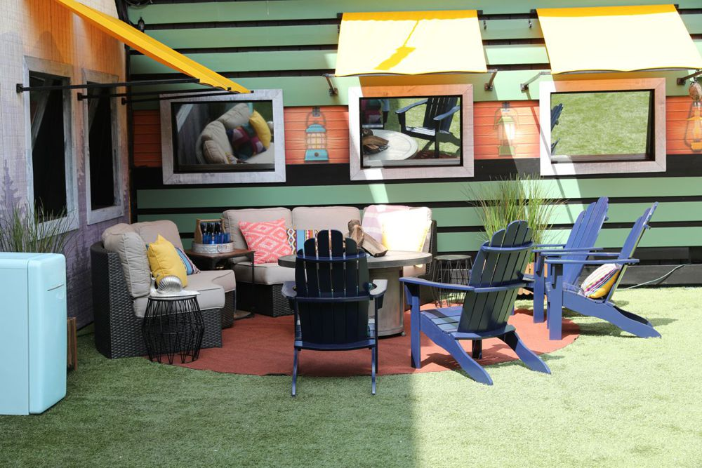 Big Brother 21 House: backyard