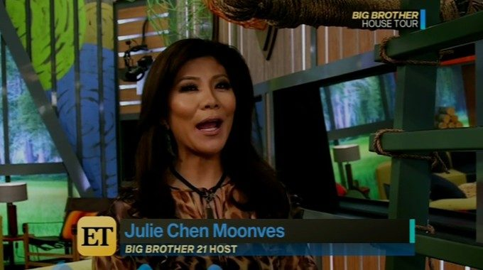 Julie Chen hosts Big Brother 21 house tour