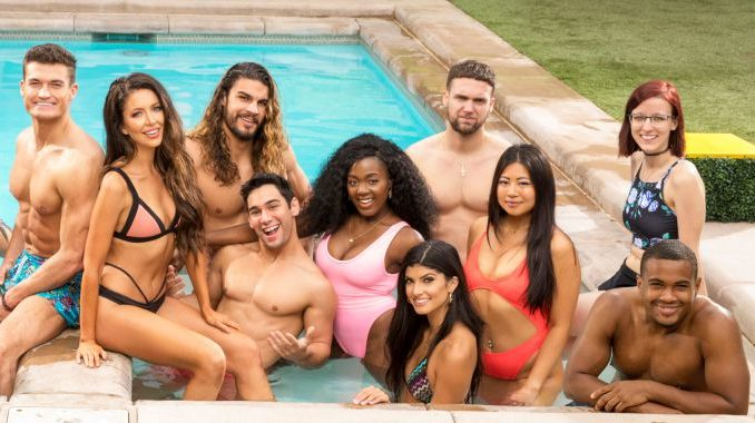 Big Brother 21 HGs in the pool