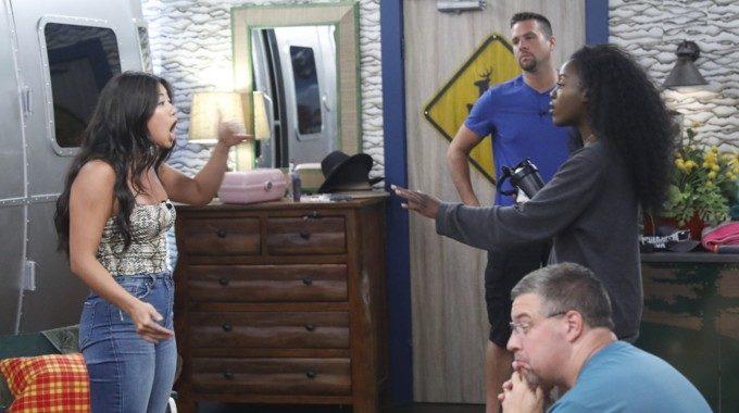 Big Brother 21 HGs Kemi and Bella faceoff