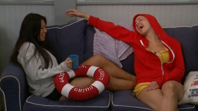 Bella and Kat on Big Brother 21