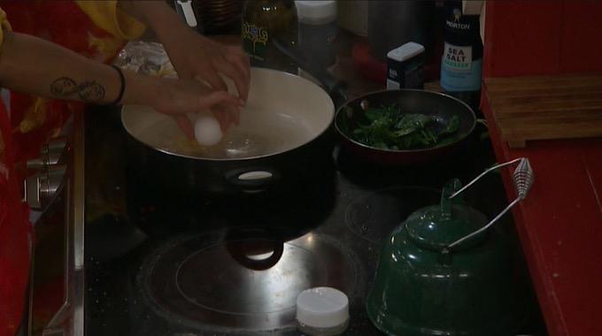 Analyse Making Eggs Florentine