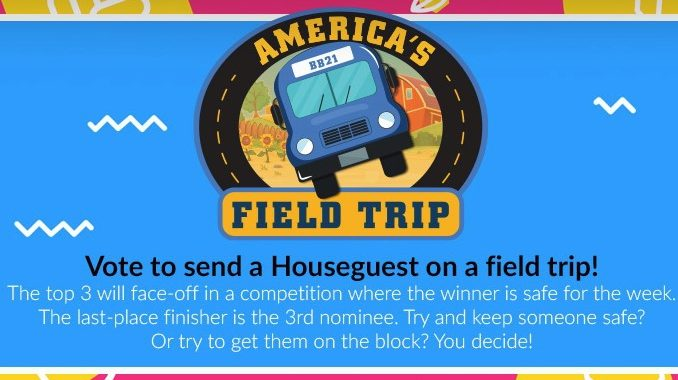 America's Field Trip on Big Brother 21