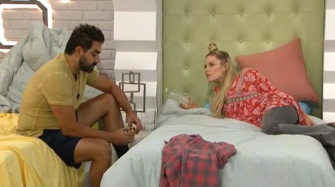 Kaysar and Dani talk on Big Brother 22