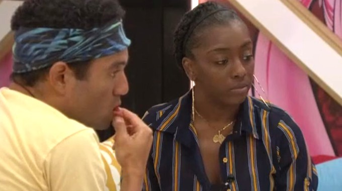 Kevin and Da'Vonne on Big Brother 22