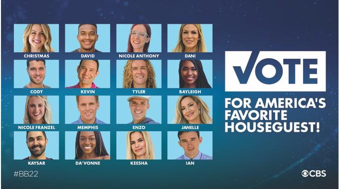 Favorite BB22 Houseguest Vote