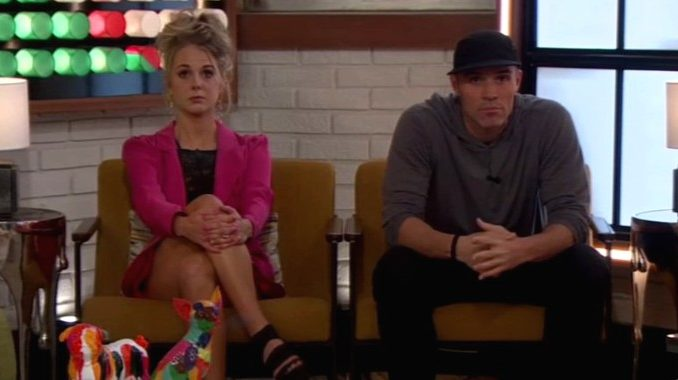 Nicole and Enzo on finale night