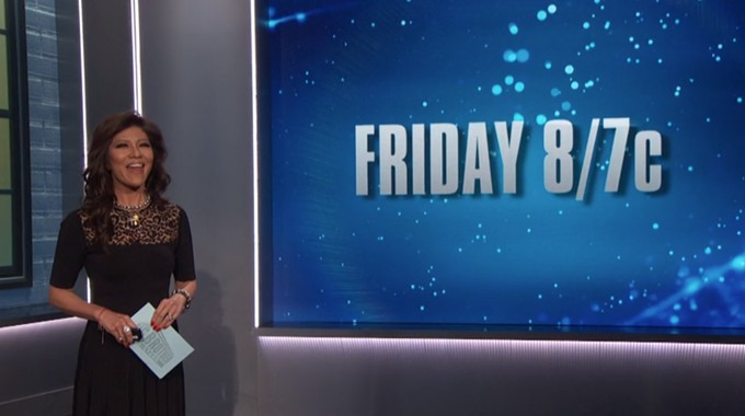 Friday episode of Big Brother 22
