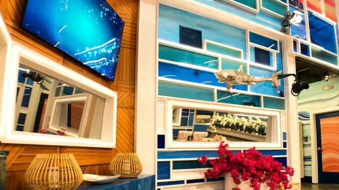 Big Brother 23 house - living room