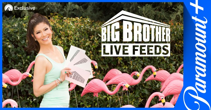 Big Brother Live Feeds on Paramount Plus