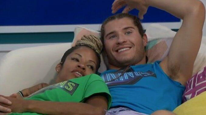 Christian and Tiffany on Big Brother 23