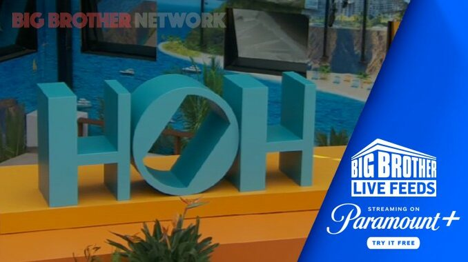 Big Brother HOH on Live Feeds
