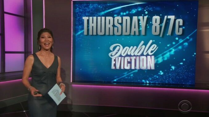 Double Eviction on Big Brother 23