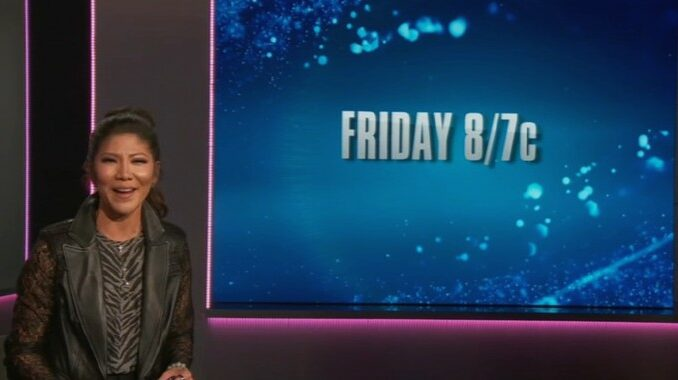 Friday episode on Big Brother 23