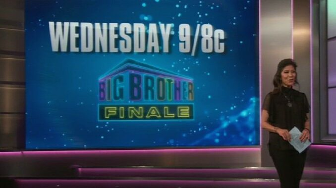 Finale night on Big Brother 23