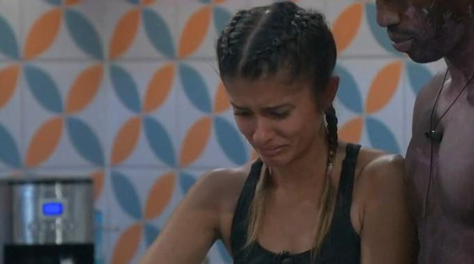 Alyssa cries on Big Brother 23