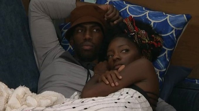 Xavier and Azah on Big Brother 23