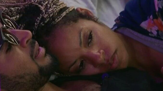 Tiffany with Kyland on Big Brother 23