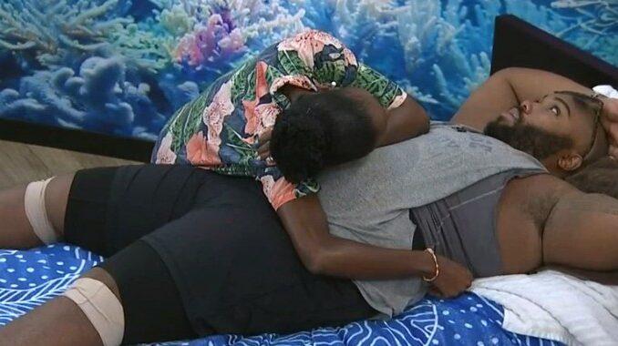 Azah and Derek F on Big Brother 23