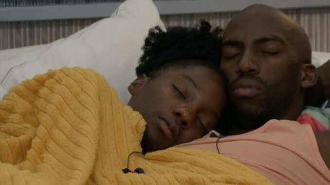 Azah and Xavier on Big Brother 23