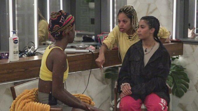 Azah Tiffany and Hannah on Big Brother 23